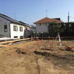 香住ヶ丘の家、いよいよ基礎工事着手です!
