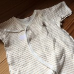 産婦人科から退院して一番最初に娘が良く着ていた服
