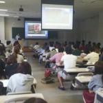 西南学院大学で、ななんと講師!させていただきました!