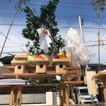 東区美和台にて、地鎮の儀を行いました。
