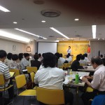 でんホーム代表 藤本香織が約80名もの方々の前で講演させていただきました。