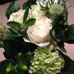 I様よりお花を頂戴しました!金曜にピザパーティしました
