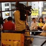 テレビ西日本様に代表 藤本が取材されました