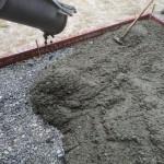 ファイヤーワールド福岡様の駐車場追加コンクリート工事をしました。
