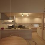 キッチン、標準はコスパ高し。【四季の住まい-鳥飼7】