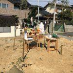 福岡市東区は美和台にて地鎮祭をしました。