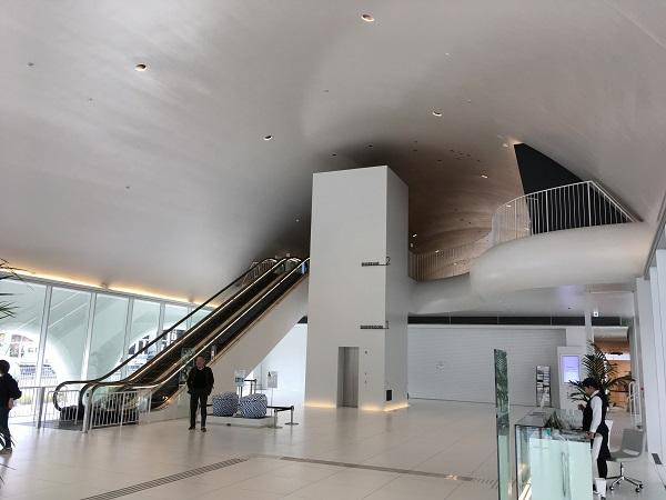 TOTOミュージアムエントランスホール