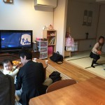 土曜日は、入居後見学会(お宅訪問)でした。