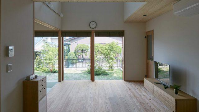 福岡市東区高美台の新築注文住宅「かくれんぼの家」の内観写真