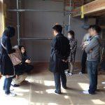 鳥飼ゲストハウス現場見学会&勉強会を開催しました 2013.03.17(日)