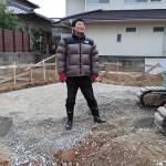 [続]青葉の家、基礎工事のお手伝い