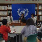 国連ハビタット福岡本部主催『女性が住み続けたいまち、みんなが住み続けたいまち』イベントにて、代表 藤本香織が講演しました。
